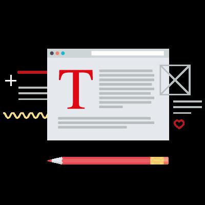 Redaktionelle Texterstellung