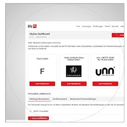 Newsroom-Verwaltung